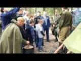 Юнармия - Абдул Азиз Мераджуддин на открытии Партизанской деревни