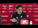 Montella: tenemos que pensar solo en el Valencia 9/3/18. Sevilla FC