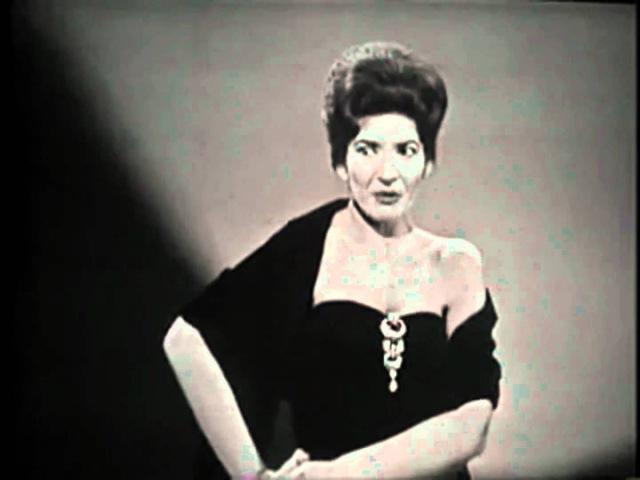 Maria Callas - Habanera(Covent garden) 1080p