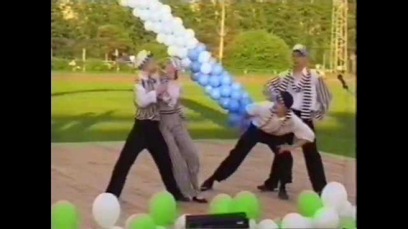 М.Попова и Образцовый коллектив современного танца