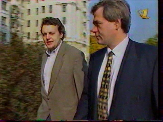 Время (ОРТ, 08.10.1997) Павел Шеремет вышел на свободу