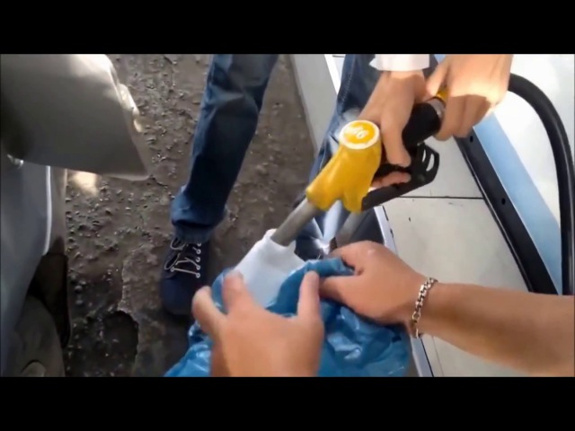 Полнейший обман с бензином на заправках Газпром