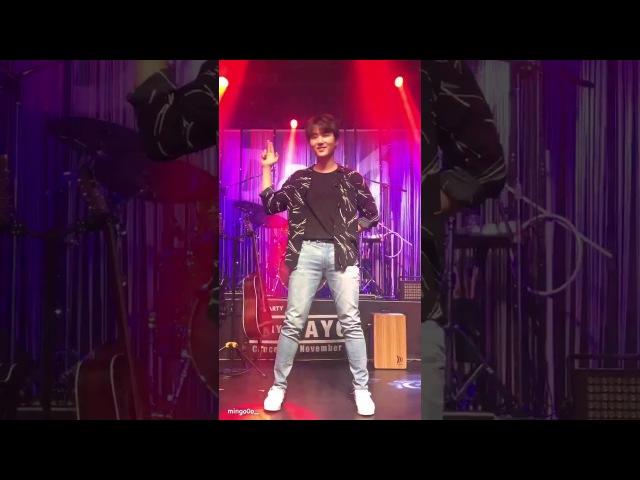 Day6's YoungK dancing to gashina fancam