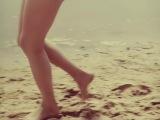 once on the beach