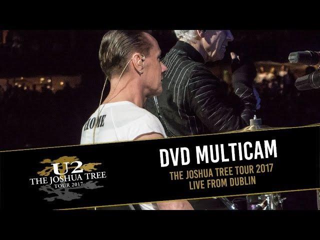 DVD U2 THE JOSHUA TREE TOUR 2017 - LIVE FROM DUBLIN (MULTICAM - HD)