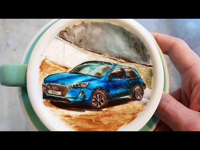 Бариста Мастер 80 Уровня: Рисует на Кофе Картины
