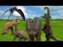 Мультик про Динозавров в 3D. Название и голоса динозавров на английском языке