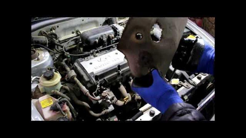 Двигатель троит детонирует и не развивает мощности Hyundai Accent 1 5 Хендай Акцент 2006 года Тагаз