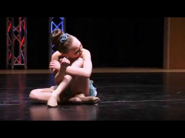 Dance Moms - Maddie Ziegler - I'm Trying (S3, E15)