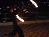Fire walker on Eat Static in Crimea 2009