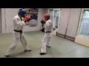 Тренировка по армейскому рукопашному бою, спарринг арб