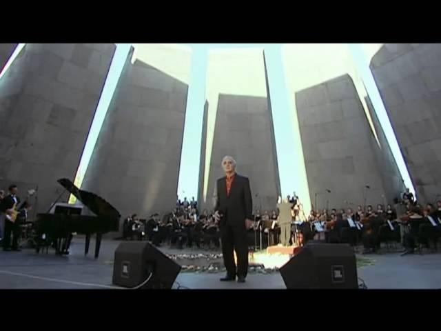 Charles Aznavour Ave Maria 2006 Erevan Ծիծեռնակաբերդ