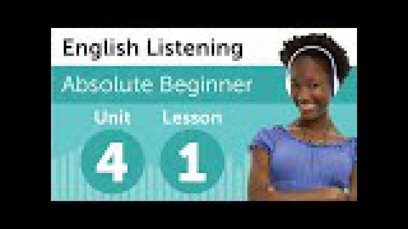 English Listening Comprehension - Finding What You Want at a Department Store in America