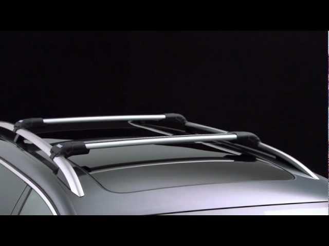 Roof Racks - Thule WingBar Edge 958x/Thule AeroBlade Edge 750x