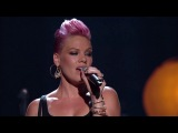 P!nk &amp Nate Ruess - Just Give Me A Reason (Live)