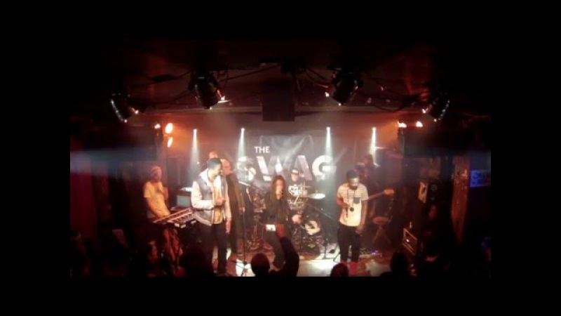The Swag jamming with Yugen Blakrok 04/19/16