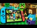 ЧЕЛЛЕНДЖ Лего Нубик против Nintendo Switch - Майнкрафт Мультфильмы Лего Мультики Видео для Детей