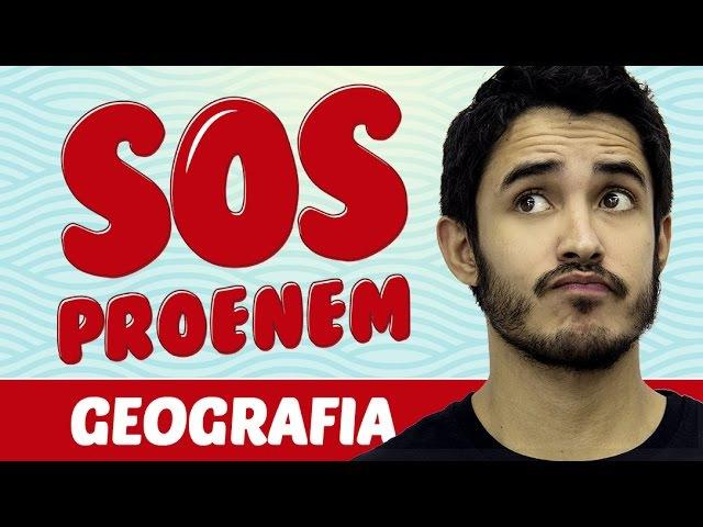 SOS ProENEM - Espaço rural e meio ambiente - Prof. Leandro Almeida