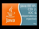 Java EE 45 CDI 2 IOC and dependency injection