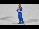 Ukraine's Oleksandr Abramenko won the men's aerials freestyle skiing gold medal.