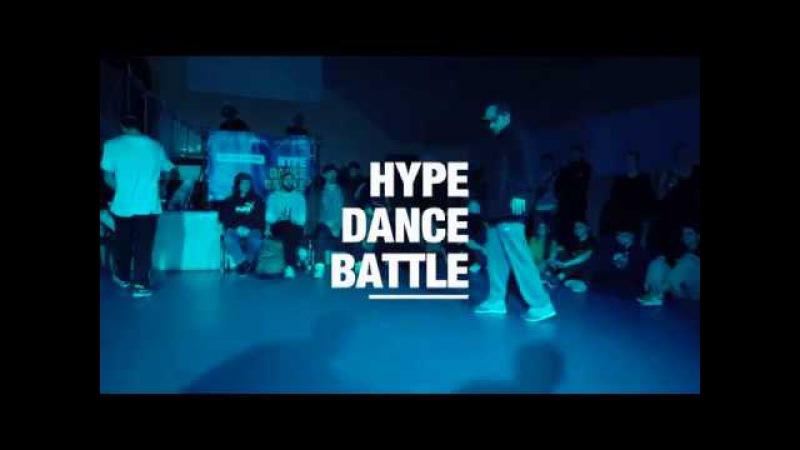 HYPE DANCE BATTLE 2017 | House Dance 1/2 final | Andrey Stylez vs Lanya | Danceproject.info