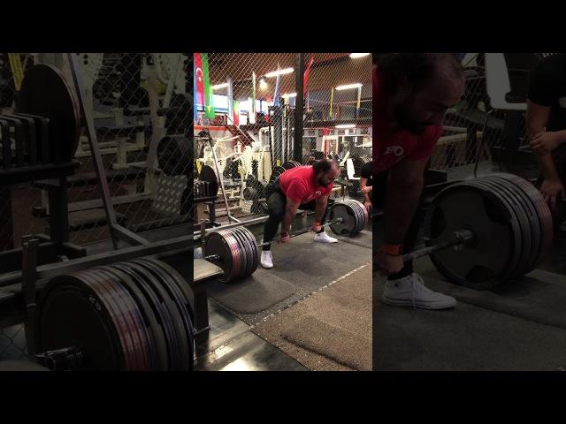 410 kg Raw Deadlift Zahir Khudayarov