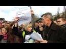 Волгоград акция Навального Он вам не Димон