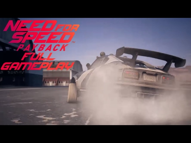 Need for Speed: Payback [FULL GAMEPLAY / HARD DIFFICULTY] by KuruHS x Reiji