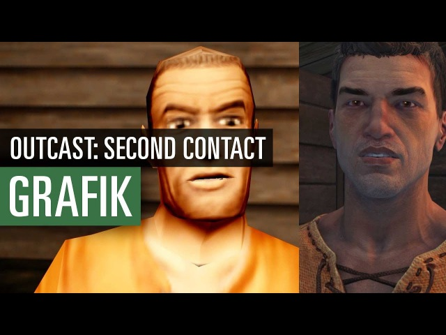 Outcast: Second Contact - Graphics comparison / Grafikvergleich - Original vs. Remaster
