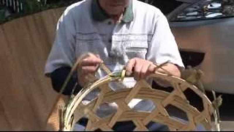 上平の竹細工職人