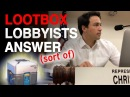 Gaming industry lobbyists questioned about lootboxes