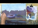 Learn To Paint TV E8 Low Tide Near Maryborough Painting Boast in Acrylic Paint Beginners Tutorial.