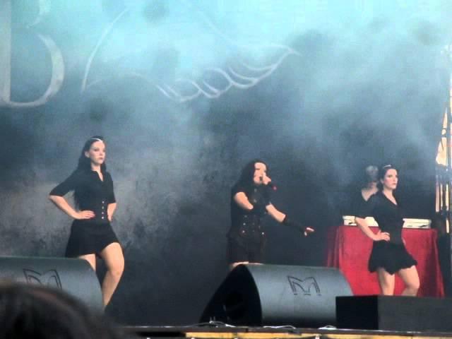 Blutengel live Zita Rock 2011 - The End