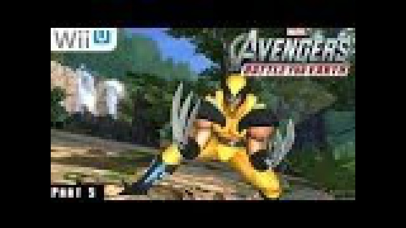 Marvel Avengers Battle for Earth - WiiU Gameplay 1080p part 5 (Savage Land)