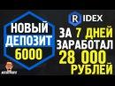 Заработал 28 000 рублей за неделю на проекте RIDEX | Быстрый Заработок в Интернете! Art...