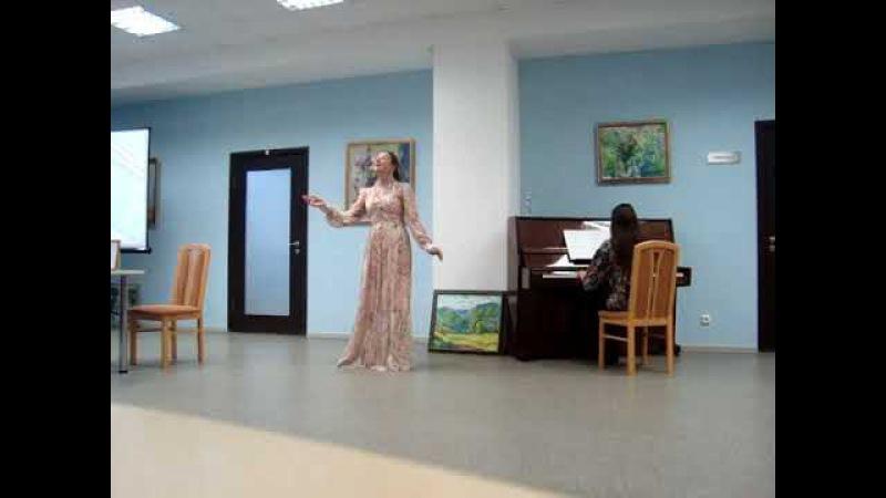 Вальс Мюзетты(БогемаПуччини).Песня Ольги(РусалкаДаргомыжский)