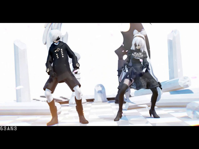 [MMD x NieR:Automata x Friend x Cosplay Time DL] || Author Angelina【Is】