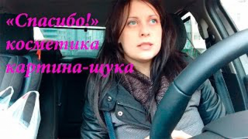 Влог. Из машины/ покупки косметики/спасибо/страхи за рулем