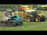 T150 vs JCB   VICTORY !!! Tractor drag race  Tractor Show