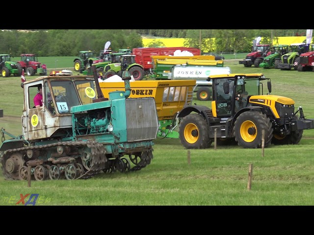 T150 vs JCB | VICTORY ? ||Tractor drag race ||| Tractor Show