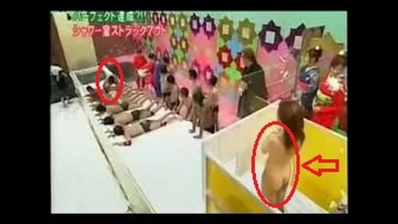 NEW Japanese TV Game Shows -(18)!! Naked Girl In Shower Puzzle |Funny video|The Viral
