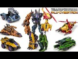 Transformers Fall Of Cybertron Combiner Decepticon Giant Warrior Bruticus Combin Robot Car Toys