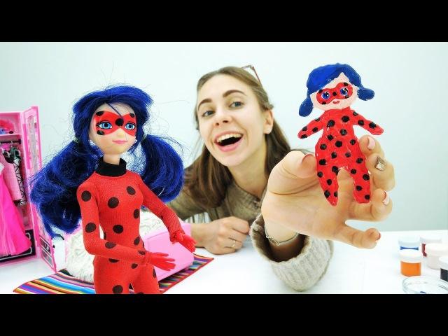 Делаем куклу Леди Баг для Супер Кота своими руками!