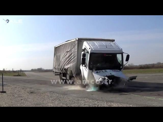 Краш-тесты ГРУЗОВИКОВ, ДТП подборка Crash test trucks compilation