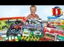 Открываем игрушки машинки Мультики про Машинки Трамвай, метро, поезд Лего Полиц ...