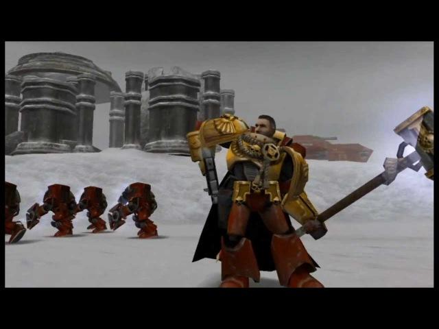 Warhammer 40K Dawn of War Dark Crusade Начало компании за Космодесант Кровавые Вороны