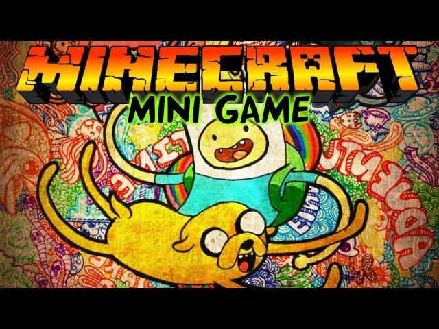 Время приключений/Adventure time в Майнкрафт: Мини игры [Финн и Джейк] 1 ЧАСТЬ!