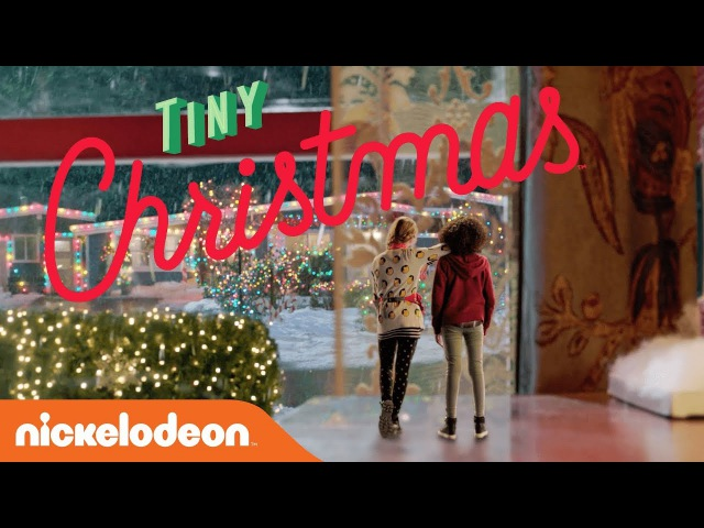 'Tiny Christmas' 🎄 EXCLUSIVE Trailer Starring Lizzy Greene Riele Downs | Nick