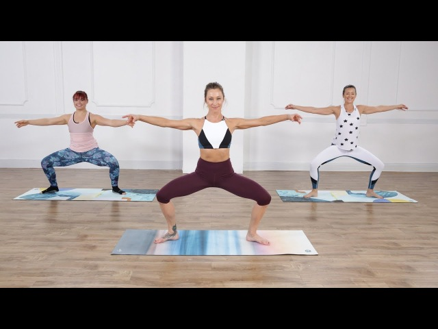 Marnie Alton - No-Equipment Barre Sculpting Workout | Баррная тренировка