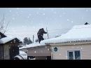 Andrey Pozdeev Snow Removal From The Roof Андрей Витальевич Поздеев Уборка Снега С Крыши